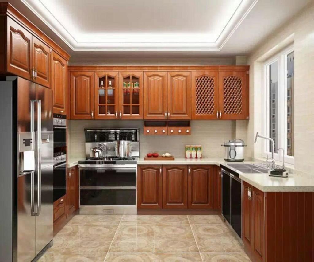 不锈钢整体厨房效果图_装装修